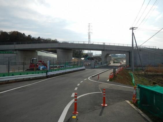 20140418 圏央道進捗状況 桶川市上日出谷 圏央道を跨ぐ陸橋周辺DSCN4000