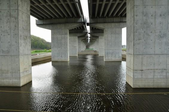20140418 圏央道進捗状況 桶川市上日出谷 圏央道を跨ぐ陸橋周辺DSC_0099