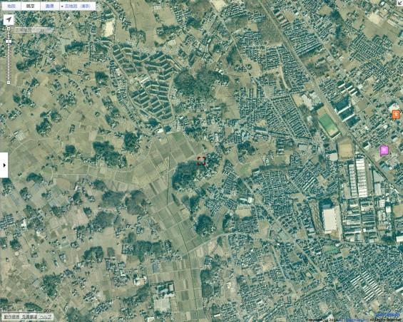 20140418 圏央道進捗状況 桶川市上日出谷goo地図航空写真2