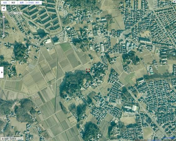 20140418 圏央道進捗状況 桶川市上日出谷goo地図航空写真3