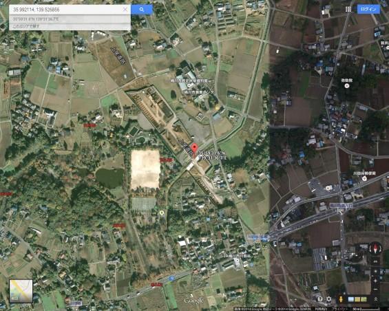 20140410 保存用画像グーグルマップ 城山公園交差点航空写真