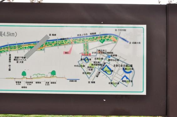 20140404 埼玉県さきたま緑道の桜DSC_0326