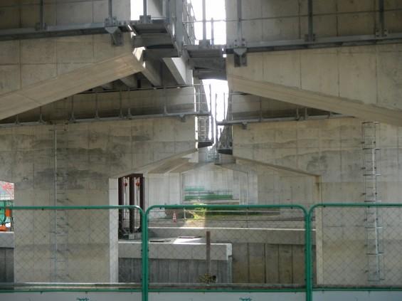 20140418 圏央道進捗状況 桶川市上日出谷 圏央道を跨ぐ陸橋周辺DSCN3982