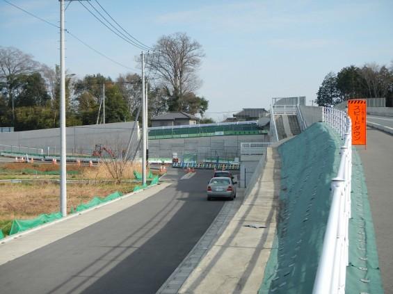 20140418 圏央道進捗状況 桶川市上日出谷 圏央道を跨ぐ陸橋周辺DSCN3947