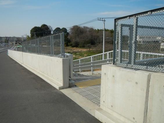 20140418 圏央道進捗状況 桶川市上日出谷 圏央道を跨ぐ陸橋周辺DSCN3965