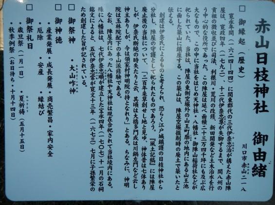 埼玉県川口市 赤山城(赤山陣屋)DSCN3622
