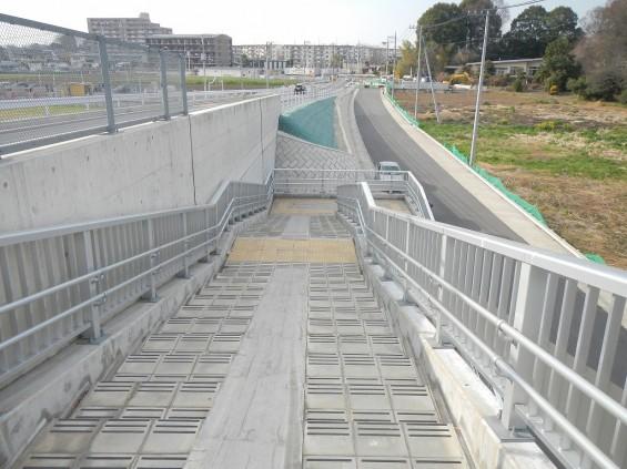 20140418 圏央道進捗状況 桶川市上日出谷 圏央道を跨ぐ陸橋周辺DSCN3966