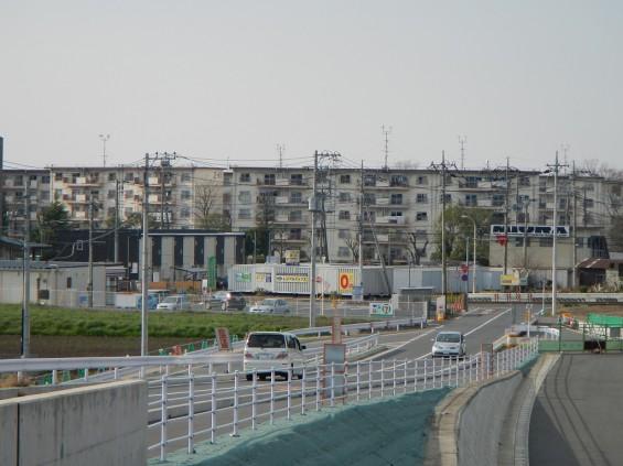 20140418 圏央道進捗状況 桶川市上日出谷 圏央道を跨ぐ陸橋周辺DSCN3967