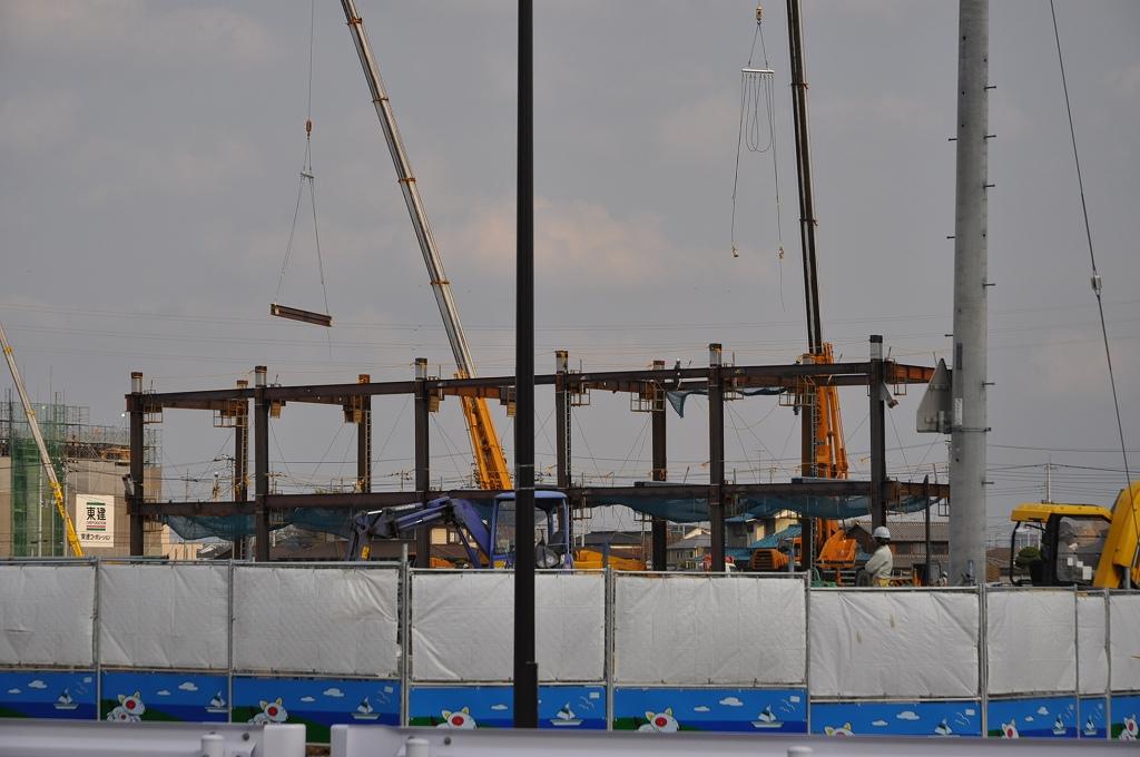 (仮称)BENIBANA WALK(ベニバナウォーク) 桶川 建設中DSC_0151