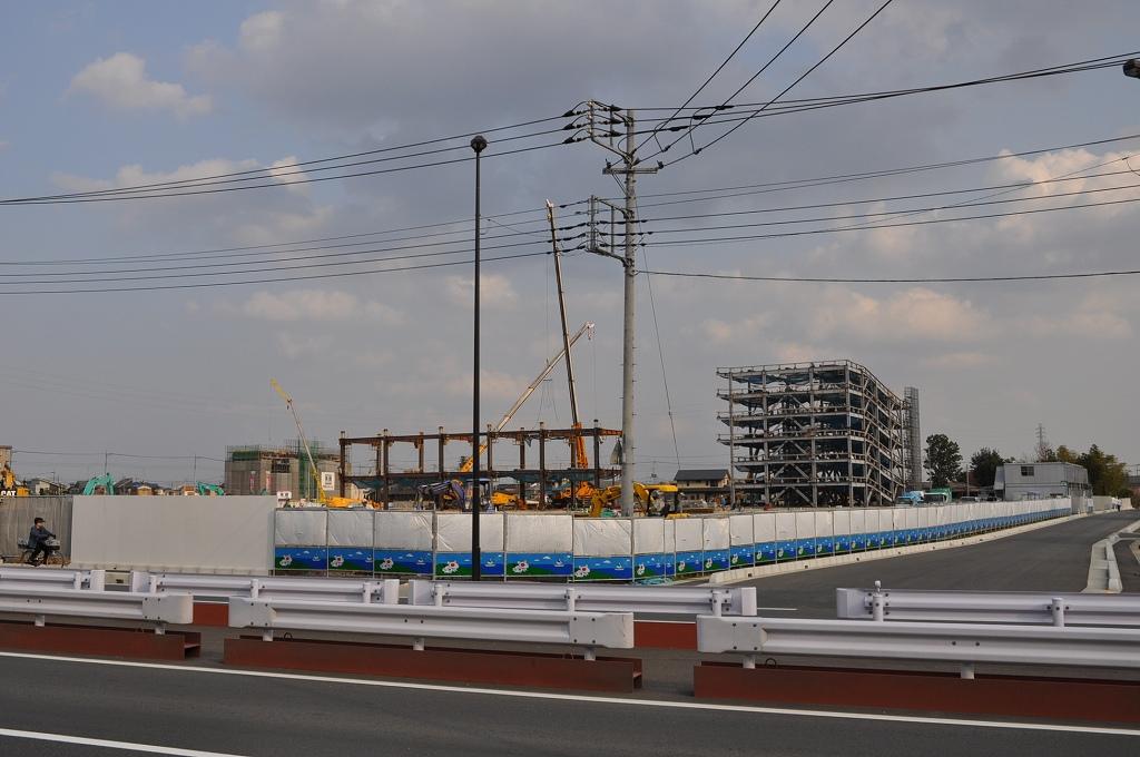 (仮称)BENIBANA WALK(ベニバナウォーク) 桶川 建設中DSC_0148