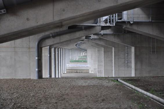 20140418 圏央道進捗状況 桶川市上日出谷 圏央道を跨ぐ陸橋周辺DSC_0091