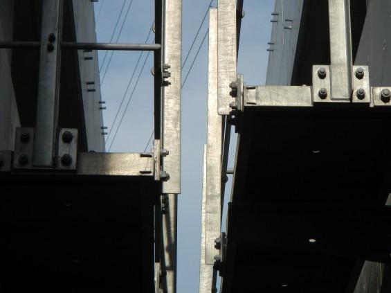 20140418 圏央道進捗状況 桶川市上日出谷 圏央道を跨ぐ陸橋周辺DSCN3986