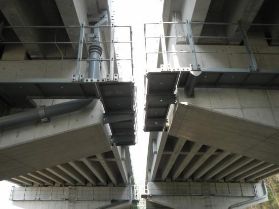 20140418 圏央道進捗状況 桶川市上日出谷 圏央道を跨ぐ陸橋周辺DSCN3984