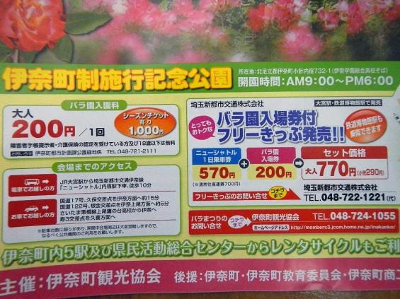 埼玉県のバラ園 バラまつり 伊奈町制施行記念公園 DSCN4424