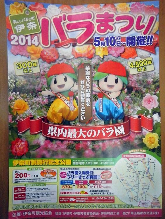 埼玉県のバラ園 バラまつり 伊奈町制施行記念公園 DSCN4423