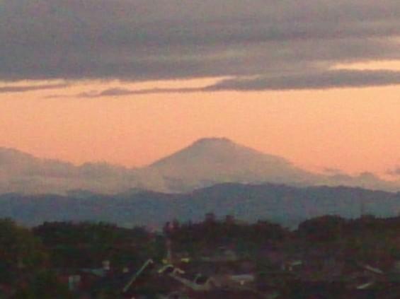 20140521 雨上がりの夕焼け 富士山 DSC_1907