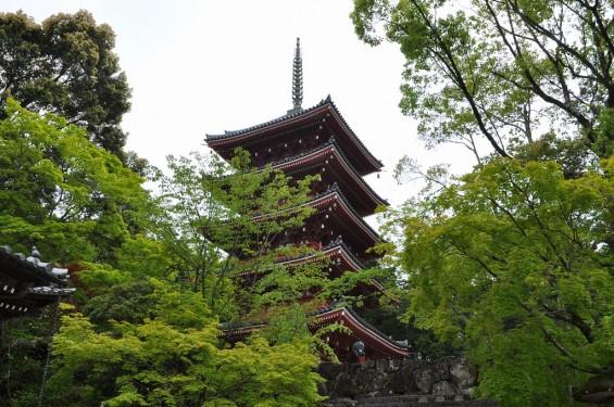 五台山 竹林寺 五重塔DSC_0221