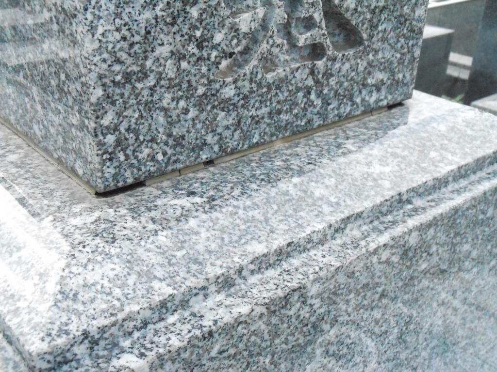 墓石の目地(メジ) モルタル 劣化DSCN0835-