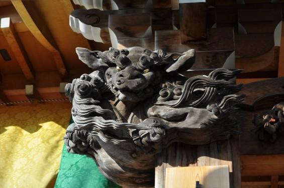 埼玉県上尾市 遍照院DSC_0088本堂の彫刻