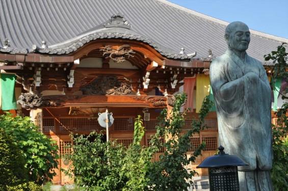 埼玉県上尾市 遍照院DSC_0072本堂と興教大師