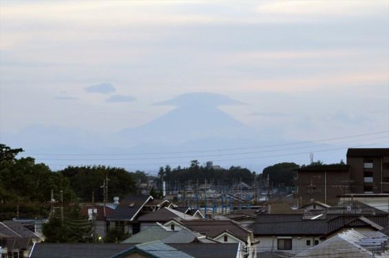 20140815 富士山に笠雲 傘雲 レンズ雲DSC_0034+-