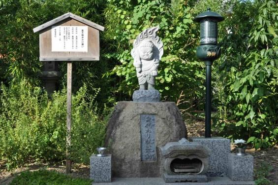埼玉県上尾市 遍照院DSC_0063身代わり拭い不動 童不動水かけ願い