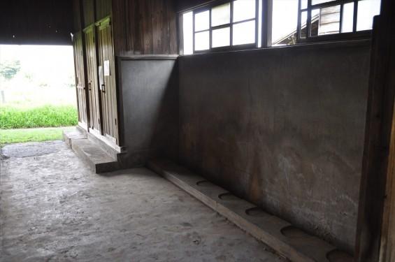 20140726 熊谷陸軍飛行学校桶川分教場跡 桶川飛行学校DSC_0127 被服倉庫 便所