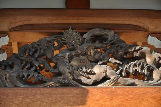 埼玉県上尾市 遍照院DSC_0087本堂の彫刻