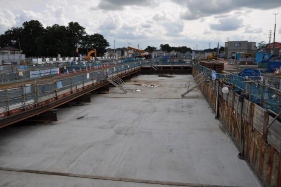 20140911 圏央道進捗状況 北本市二ツ家踏切付近DSC_0044
