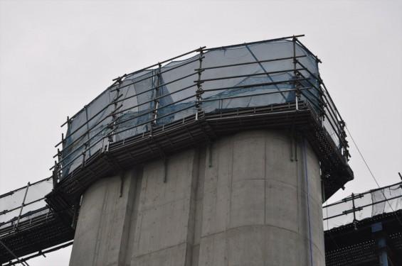 20140911 圏央道進捗状況 桶川市五丁台 上越新幹線 交差DSC_0117