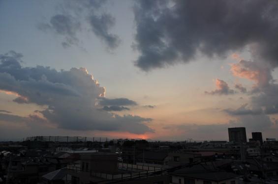 20140913 2014年9月13日の埼玉県上尾市から見えた日没後のムクドリDSC_0114