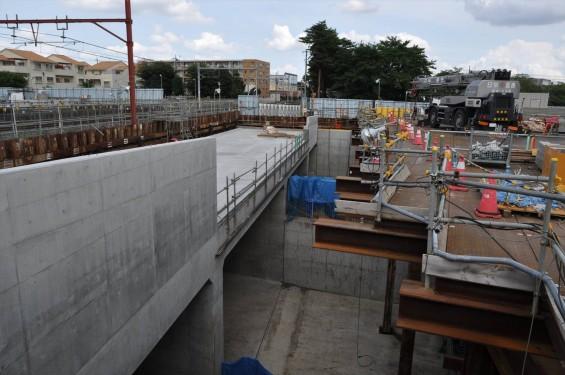 20140911 圏央道進捗状況 北本市二ツ家踏切付近DSC_0048