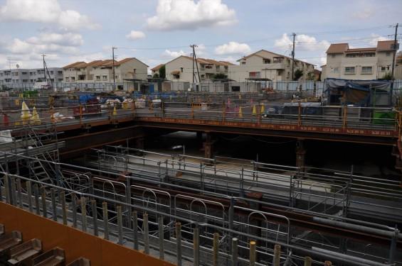 20140911 圏央道進捗状況 北本市二ツ家踏切付近DSC_0056