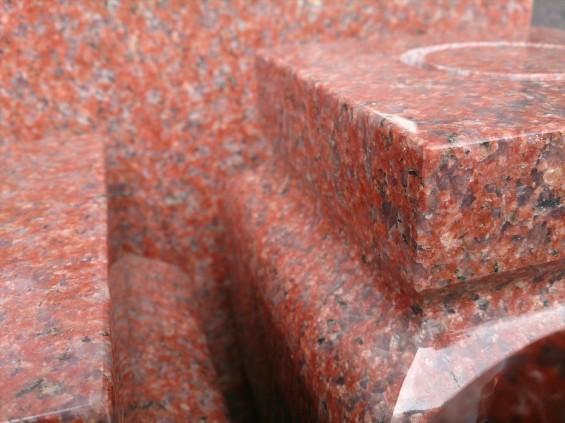 お墓に使う石材の種類 インド産 インド赤DSC_2229