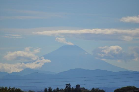 20141006 台風一過の澄んだ空気で富士山が見えましたDSC_0095
