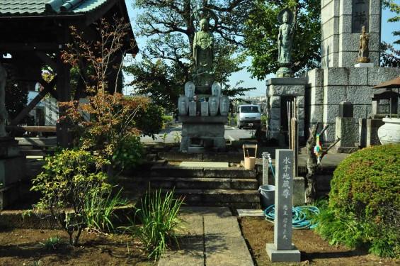 埼玉県上尾市瓦葺 楞厳寺(りょうごんじ)様のご紹介DSC_0046 水子地蔵