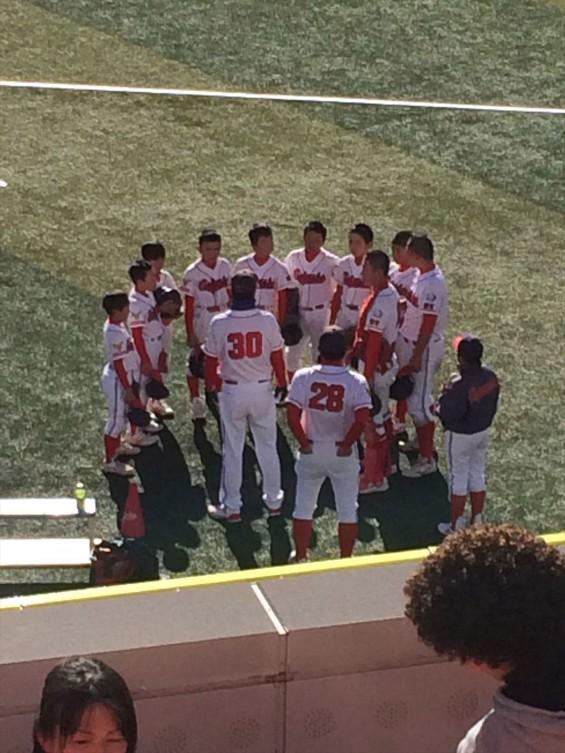 少年野球の全国大会を見に横浜スタジアムに行ってきましたIMG_2316