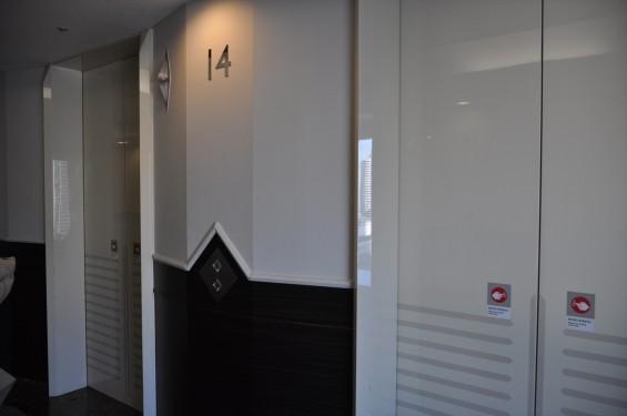 横浜ランドマークタワー 14階 大塚横浜支社 エレベーターホールDSC_0061