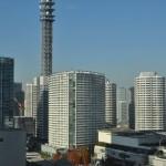 横浜ランドマークタワー 14階 大塚横浜支社から見える景色DSC_0060
