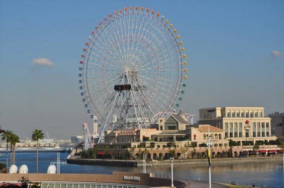 横浜支社は横浜ランドマークタワーにあります コスモワールド 観覧車DSC_0074