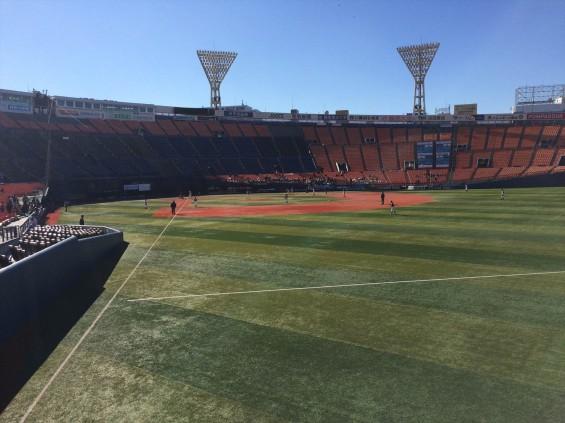 少年野球の全国大会を見に横浜スタジアムに行ってきましたIMG_2311