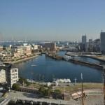 横浜ランドマークタワー 14階 大塚横浜支社から見える景色 観覧 日本丸 DSC_0046