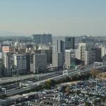 横浜ランドマークタワー 14階 大塚横浜支社から見える景色DSC_0059