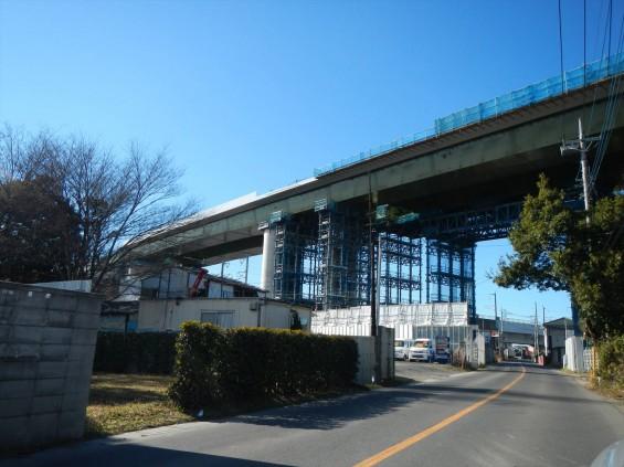 20150102 圏央道五丁台と新幹線DSCN6546