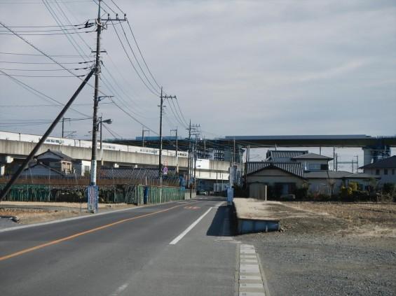 20150102 圏央道五丁台と新幹線DSCN6539