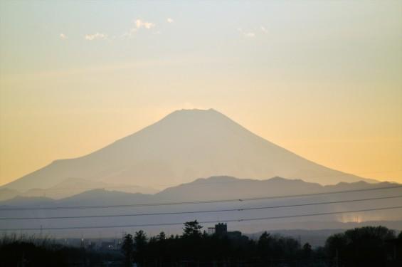 20150110 富士山の夕景DSC_0025