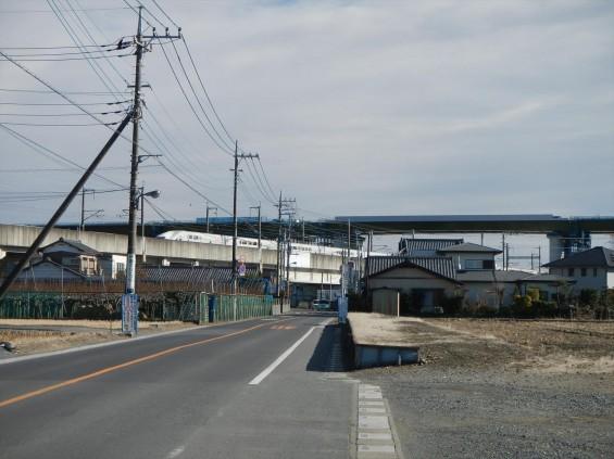 20150102 圏央道五丁台と新幹線DSCN6541