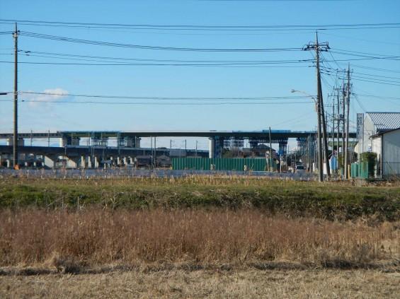 20150102 圏央道五丁台と新幹線DSCN6554