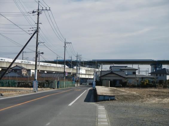 20150102 圏央道五丁台と新幹線DSCN6540