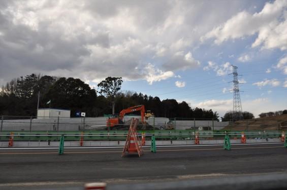 2015年3月 圏央道桶川加納インター 工事進捗状況DSC_0086